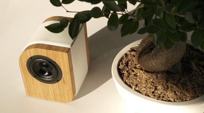 Serene Audio Pebble caramel / white