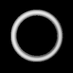 Mini pod Hoop soft silver