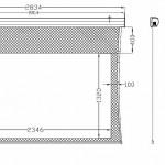 8ft tab dimensions