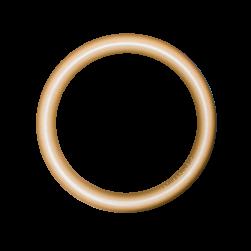 Minipod Hoop soft gold