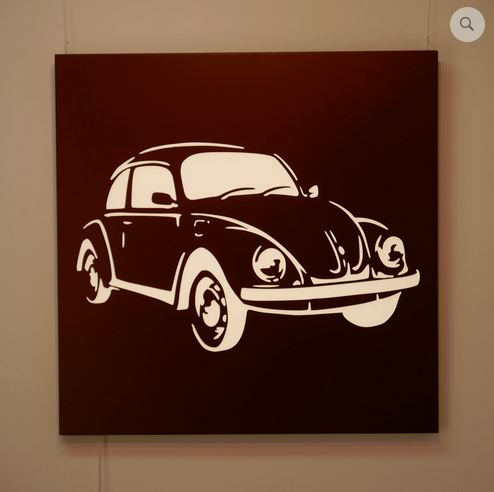 Beetle illuminated wall panel