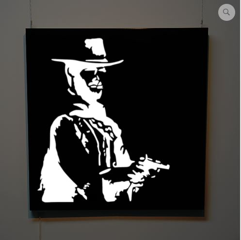 Eastwood illuminated wall panel